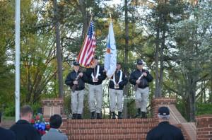 Memorial Walk - Vietnam Veterans Day 4-2016
