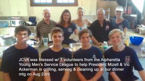 Volunters - Young Mens Service Club